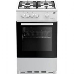Beko ESG50W Single Oven Gas Cooker